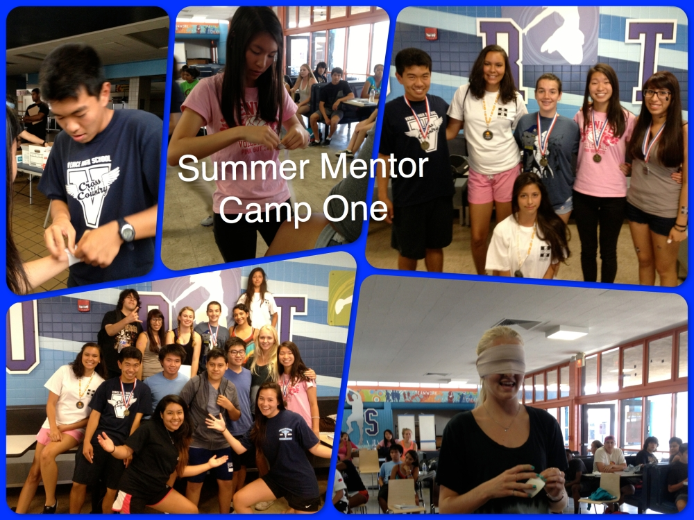 Summer Mentor Camp One!