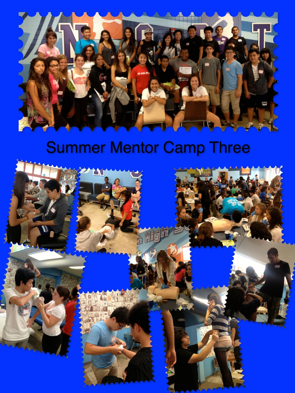 Summer Mentor Camp Three